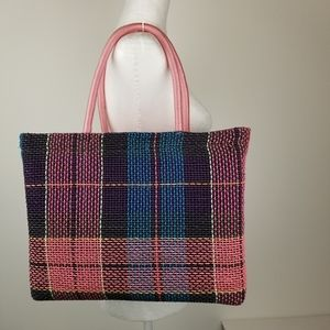 Handmade Spring Colors Tote